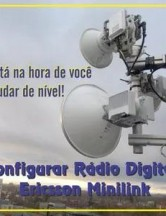 Configurar Rádio Digital Ericsson Minilink